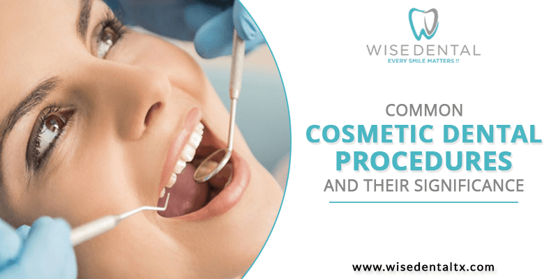 Common Cosmetic Dental Procedures and Their Significance