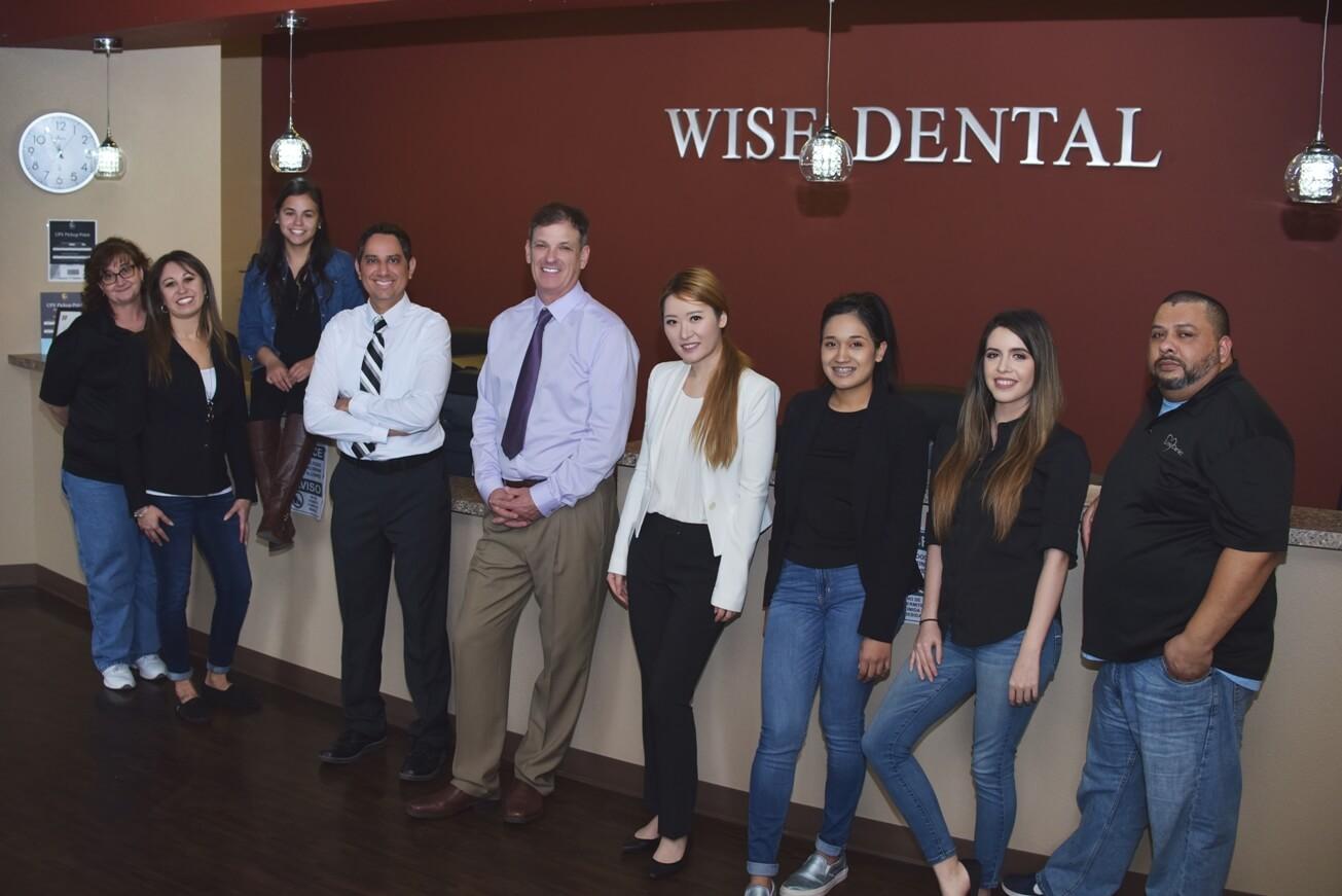 Wise Dental Office staff-inside